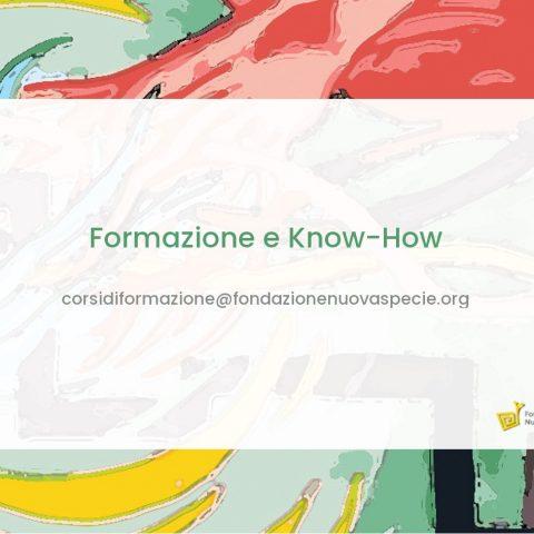 Corsi di formazione e Know-How