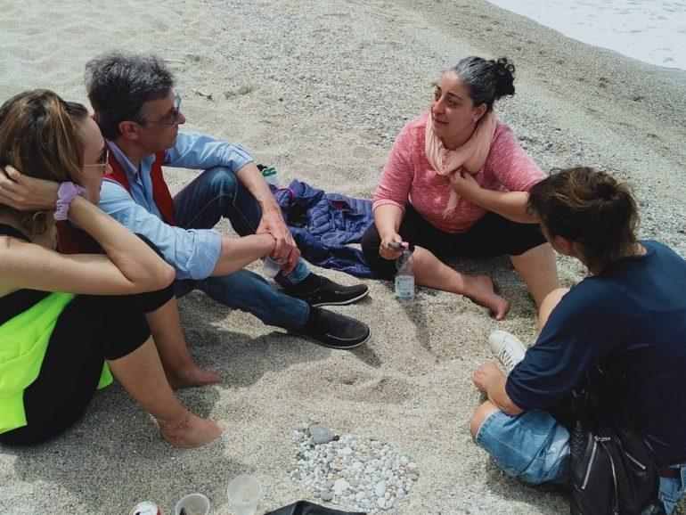 1 e 2 maggio, fine settimana a Rizzìconi con le tre Marie.